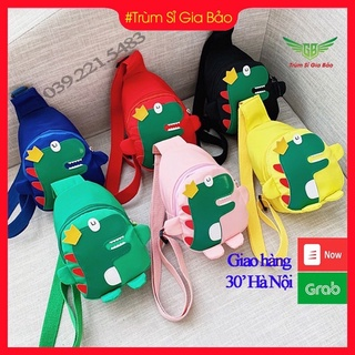 Túi đeo chéo cho bé hình khủng long , túi trẻ em mini đi chơi – du lịch phong cách Hàn Quốc siêu yêu , ngộ nghĩnh.