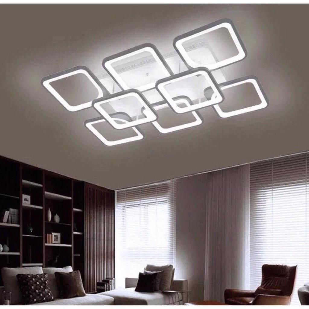 Đèn mâm led ốp trần trang trí T29 ánh sáng 3 chế độ có điều khiển từ xa_Bảo hành 2 năm