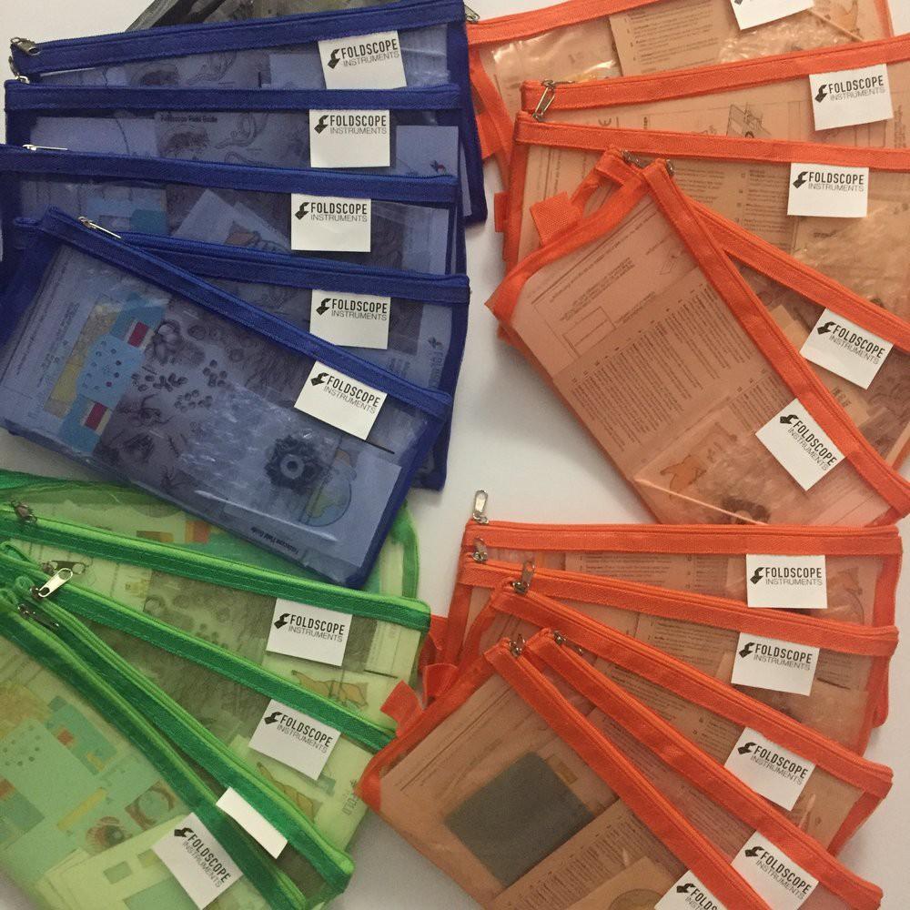 Bộ Kính Hiển Vi Bằng Giấy (Foldscope Basic)