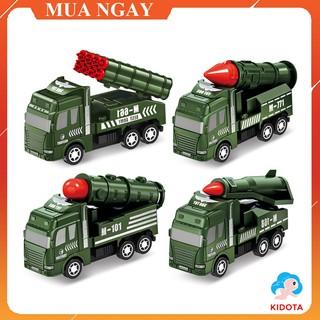 Đồ chơi mô hình xe quân sự cho bé chất liệu nhựa bền đẹp an toàn XMH12 thumbnail