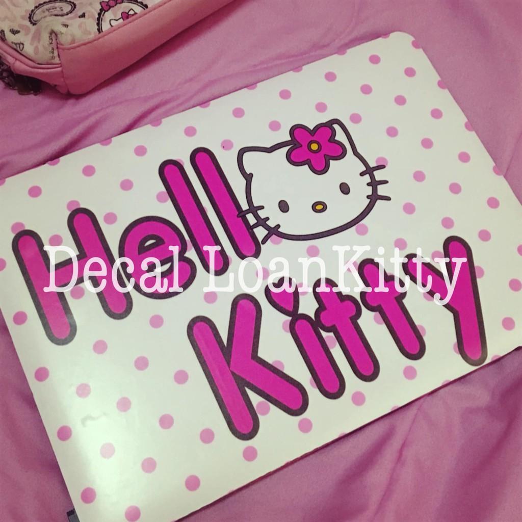 🌸LoanKitty🌸decal dán laptop độc quyền Kitty mẫu mới siu cuteee 😘