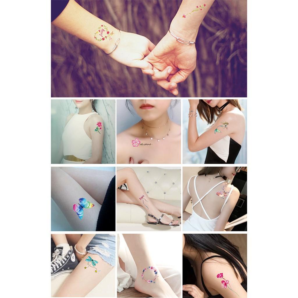 xăm dán tatoo 9 in 1