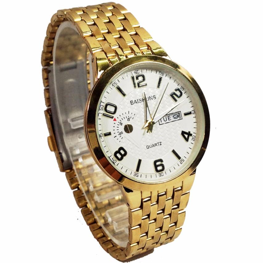 Đồng hồ nam dây thép không gỉ cao cấp BAISHUNS BS147RW