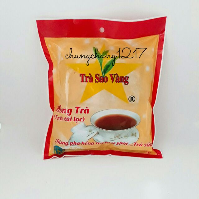 Hồng Trà Pha Trà Sữa Túi Lọc Sao Vàng 10 Gói