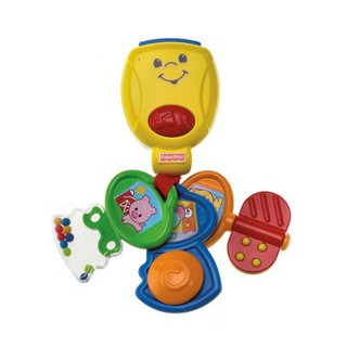 Đồ chơi cầm tay Fisher-Price Brilliant Basics Nursery Rhyme Keys