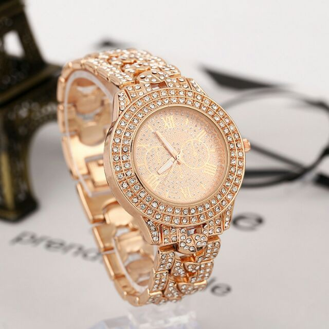 Đồng hồ nữ minhin đính đá sang chảnh - Mua ->