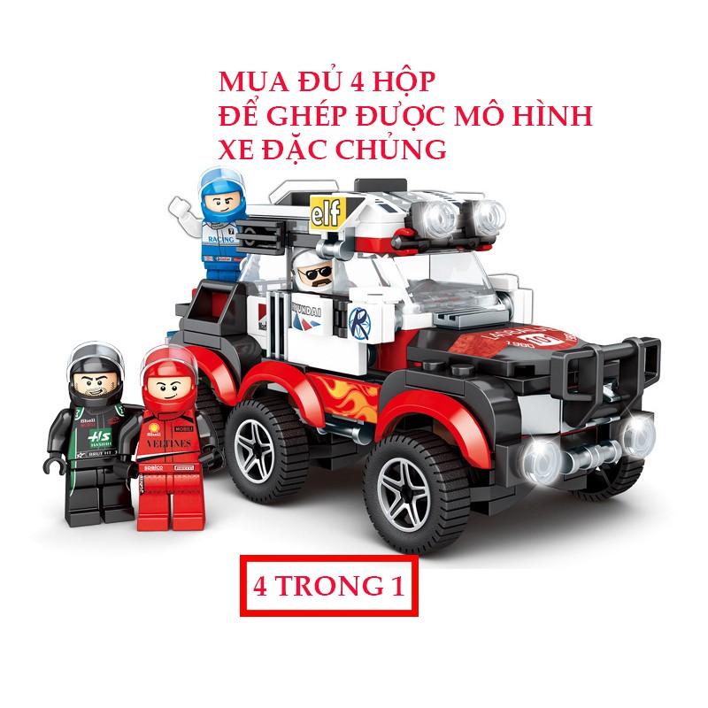 [New Lego]💖 Lego Xe Đồ Chơi Cho Bé Trai Mô Hình Lego Lắp Ráp Oto Chắc Bền Đẹp Cho Bé...