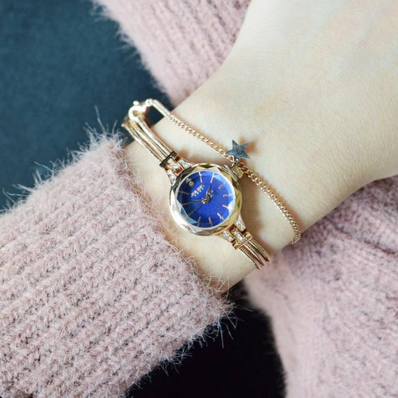 Đồng hồ nữ Julius JA-918D dây lắc siêu đẹp