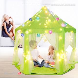 [Màu xanh lá cây] Lều công chúa nay về thêm màu xanh lá cây nhé