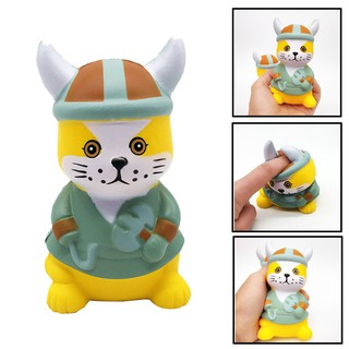 Mini Adorable Pirate Cat Super Slow Rising Kids Fun Toy Stress Reliever Toy Gift |Loamini565