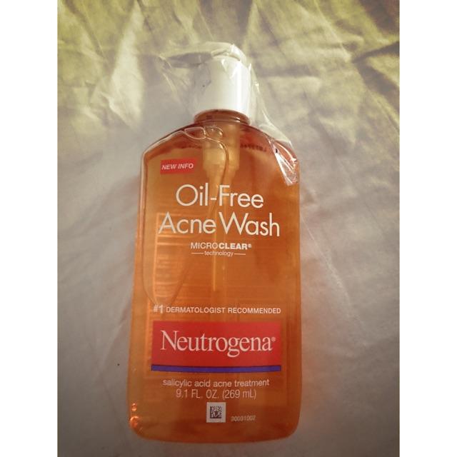 269ml_sữa rửa mặt trị mụn Neutrogena Oil Free Ance Wash