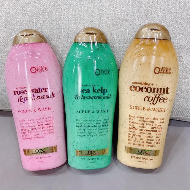 Sữa tắm ogx về đủ mẫu | Shopee Việt Nam