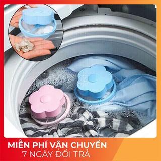[HÀNG LOẠI 1] Phao Lọc Rác Máy Giặt – Túi Lưới Lọc Lông Tóc Bụi Vải Máy Giặt