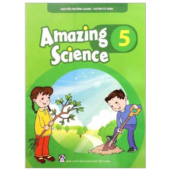 Sách - Amazing science 5