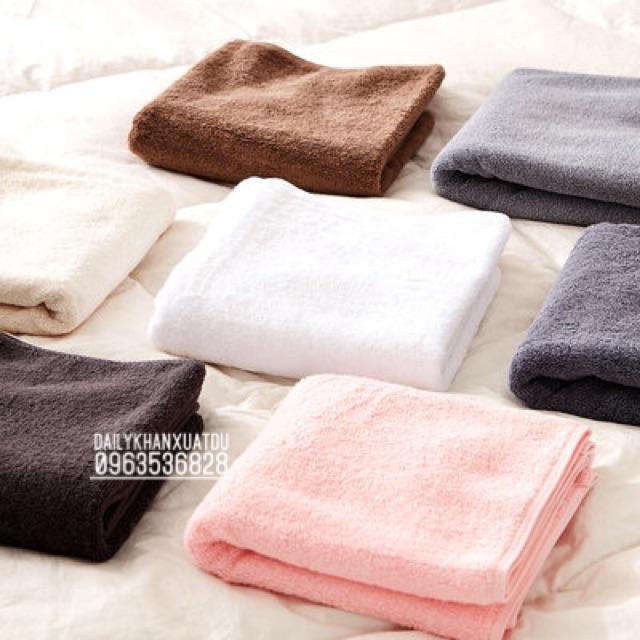 Set 5 khăn xuất Hàn 40x80cm 100% cotton
