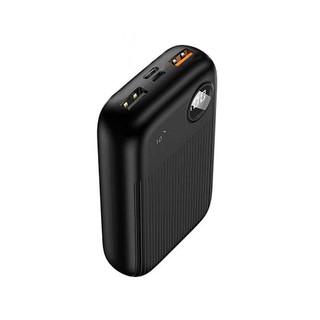 Pin sạc dự phòng 10000mAh tích hợp sạc nhanh QC3.0 + PDFast, màn hình hiển thị Digital Usams US-CD98 PB35 (Màu đen) thumbnail