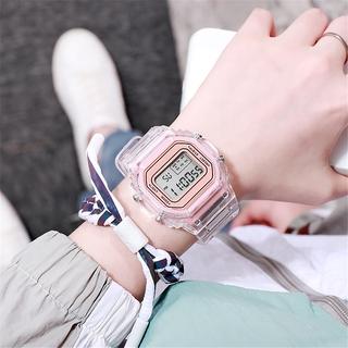 Đồng hồ điện tử đeo tay màn hình LED phong cách thể thao cho bé