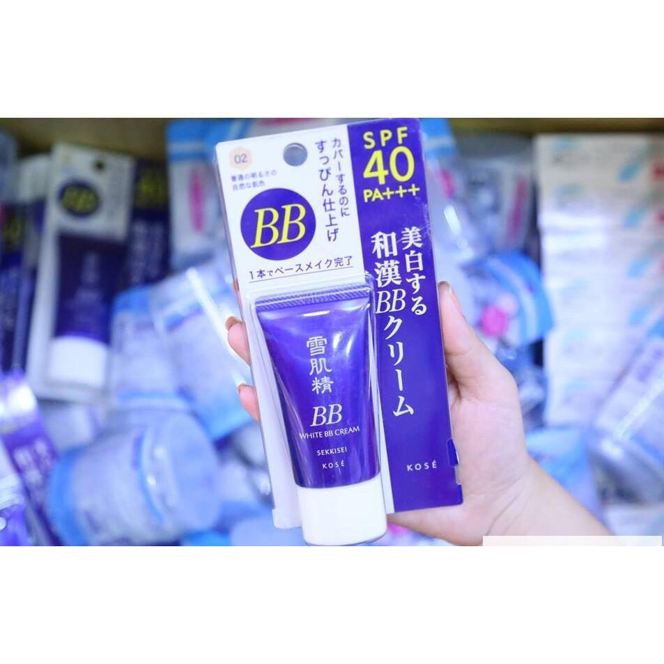 Chỉ 378,000đ Kem trang điểm BB Kose Sekkisei White Cream 6 in 1 ...