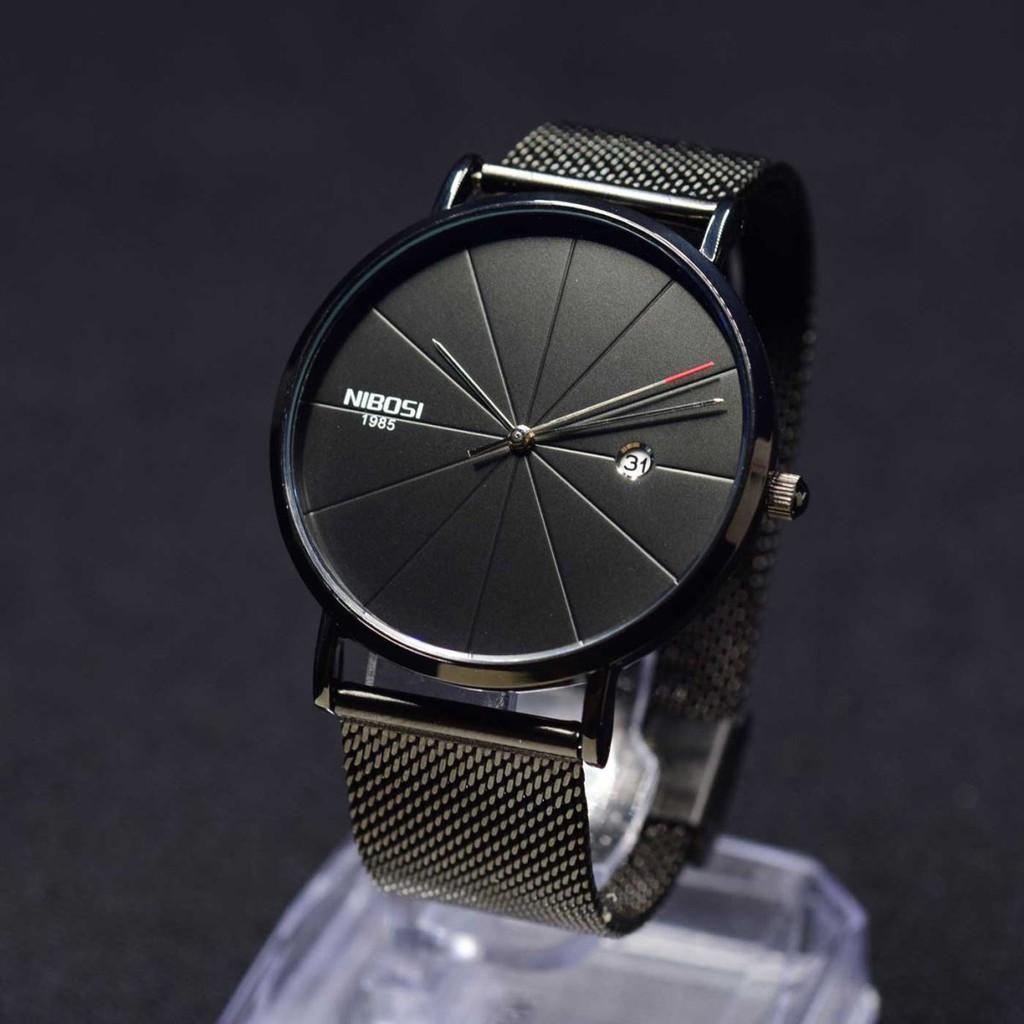 Đồng hồ Nam Nibosi 100% chính hãng, hàng fullbox ( Có thẻ bảo hành hãng)