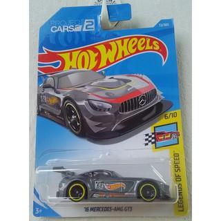 Xe mô hình Hot Wheels '16 Mercedes-AMG GT3 FJV469
