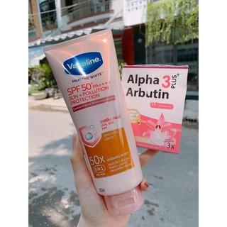 Viên kích trắng da Alpha Arbutin 3 Plus New UV ( vỉ 10 viên) thumbnail