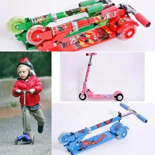 Xe trượt scooter 3 bánh cho bé siêu đẹp nhiều màu- shop mẹ sói
