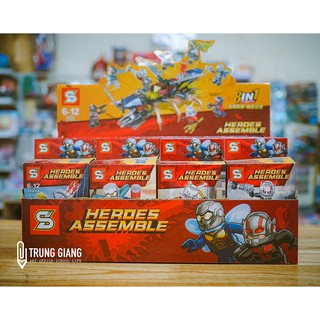 LEGO SUPER HEROES ASSEMBLE (8 in 1)