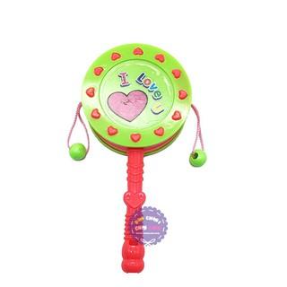 Đồ chơi trống lắc cầm tay baby bằng nhựa – ĐỒ CHƠI CHỢ LỚN