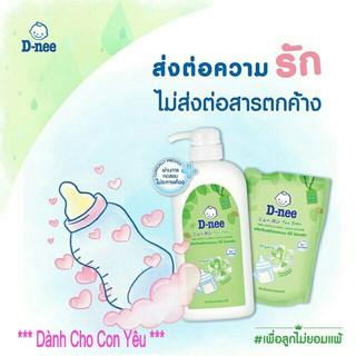Nước rửa bình sửa DNEE Mild &Care Tui 600ML Chai 620ml