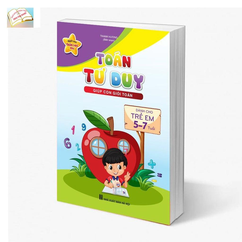 Combo Sách Toán Tư Duy Cho Bé (3 Cuốn)