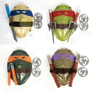 Teenage Mutant Ninja Turtles Weapons Toys TMNT Turtles Armor Shell Toy Movie Toys Kids Brinquedos Birthday Gifts
