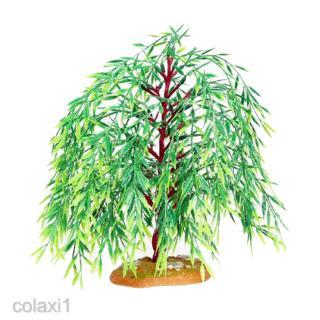 1pc Mini Willow Tree Micro Landscape Decor for Your Dollhouse Garden Props