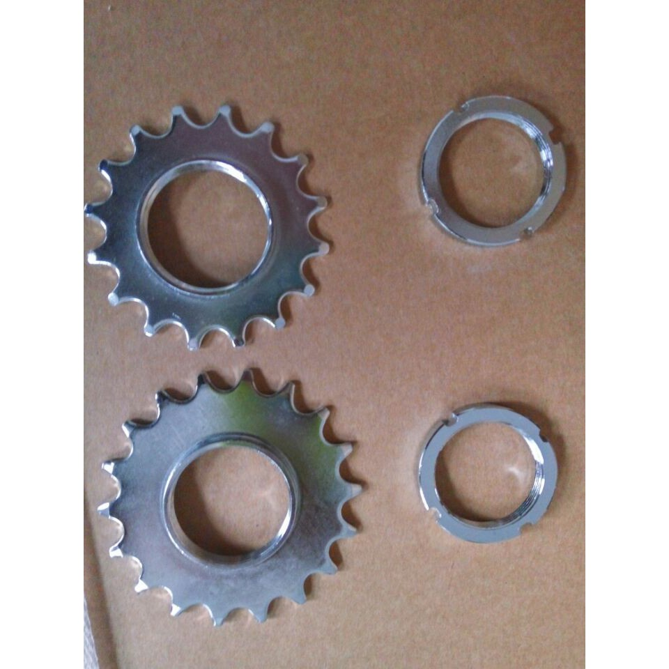 Full 188 shipments dead fly bicycle original flywheel fixed ring 16T 18T two modified flywheels