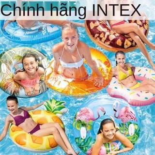 Vòng bơi Intex, người lớn, dày, bơm hơi, nách, cộng với tay cầm nổi, giường, nam và nữ, thumbnail