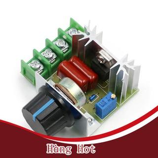 [ Hàng Hot ] Mô đun điều chỉnh điện áp AC 220V 2000W SCR điều chỉnh tốc độ động cơ điều chỉnh nhiệt chuyên dụng thumbnail