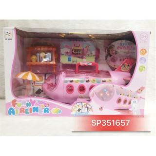 Đồ chơi máy bay hồng nội thất baby , 2134