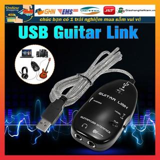 1.2M Cable USB Guitar Link kết nối đàn guitar với máy tính
