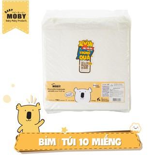 Miếng lót chống thấm Moby Baby (10 miếng gói)