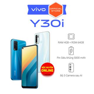 Điện thoại Vivo Y30i 4Gb + 64Gb - Hàng chính hãng