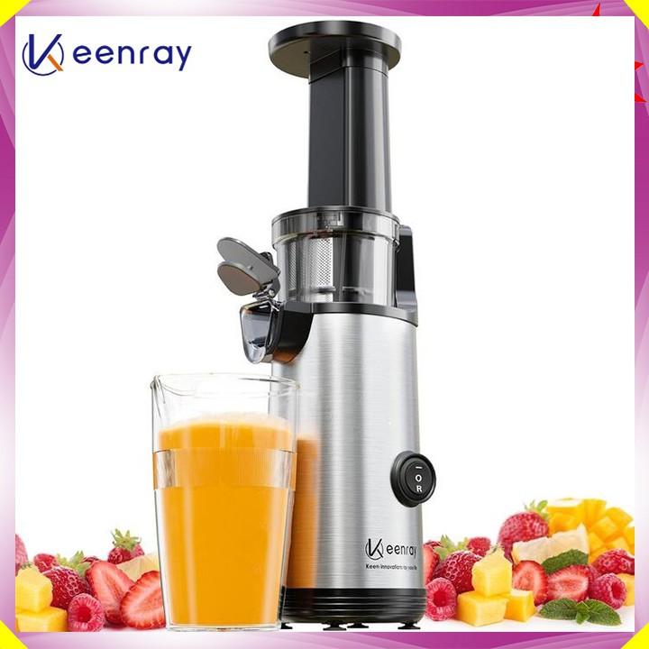 Máy ép trái cây tốc độ chậm cầm tay Keenray EL10 - ép nguyên chất 97% - Chất liệu: Tritan,ABS,Inox 304 - Bảo hành 1 năm