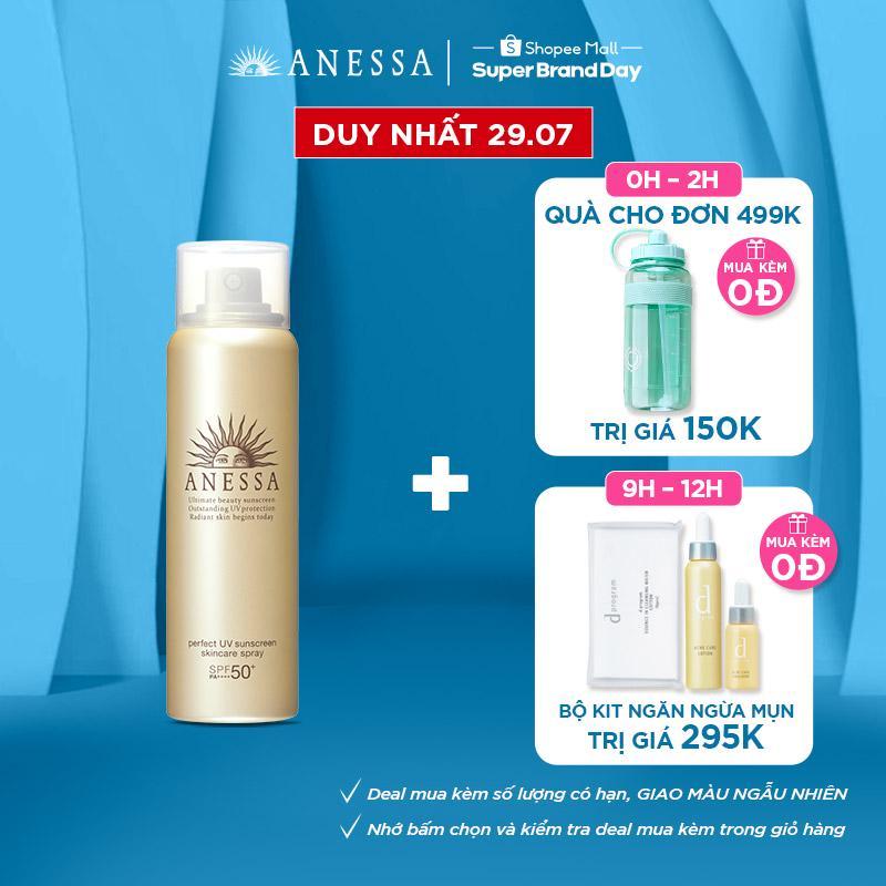 Xịt chống nắng bảo vệ hoàn hảo Anessa Perfect UV Sunscreen Skincare Spray 60g_16174
