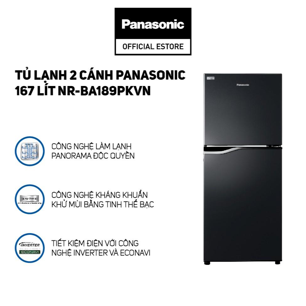 [CHỈ GIAO HCM] Tủ Lạnh Panasonic 167 Lít Inverter NR-BA189PKVN