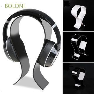 BOLONI Headphone Acrylic Shelf Bracket Mounted Earphone Display Stand
