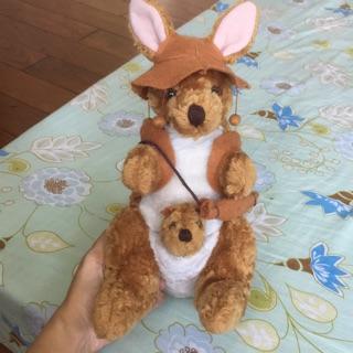 Thú nhồi bông: Kangaroo và con từ Úc, đã qua sử dụng