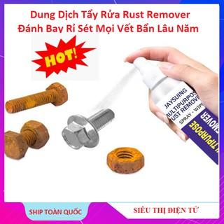 Chai Xịt Rust Remover Tẩy Rỉ Trên ÔTÔ Xe Máy, Đánh Bay Mọi Vết Bẩn Lâu Năm, Rỉ Sét Máy Móc, Dầu Nhớt thumbnail