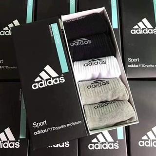 Tất nam Adidas (hộp 5 đôi trộn màu)