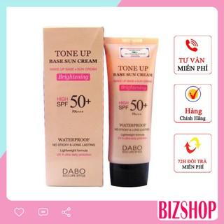 Kem lót nền trang điểm kim chống nắng Dabo Hàn Quốc Tone-Up Base Sun Cream 70ml thumbnail