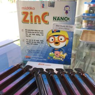 Zin C Nano+ (Hộp 20 ống x 10ml) – Giải pháp cho trẻ biếng ăn, suy dinh dưỡng