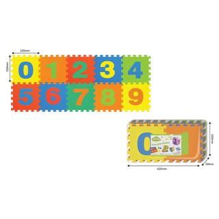 Đồ chơi trẻ em thảm xốp ghép số từ 0 đến 9 10 tấm PAMAMA P0301