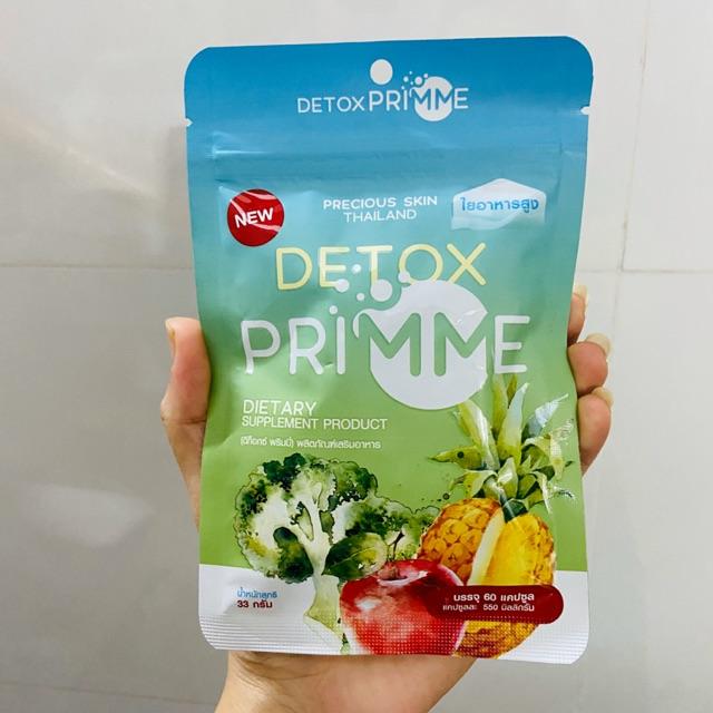 Detox Prime khử mỡ hoa quả gói 60 viên | Shopee Việt Nam